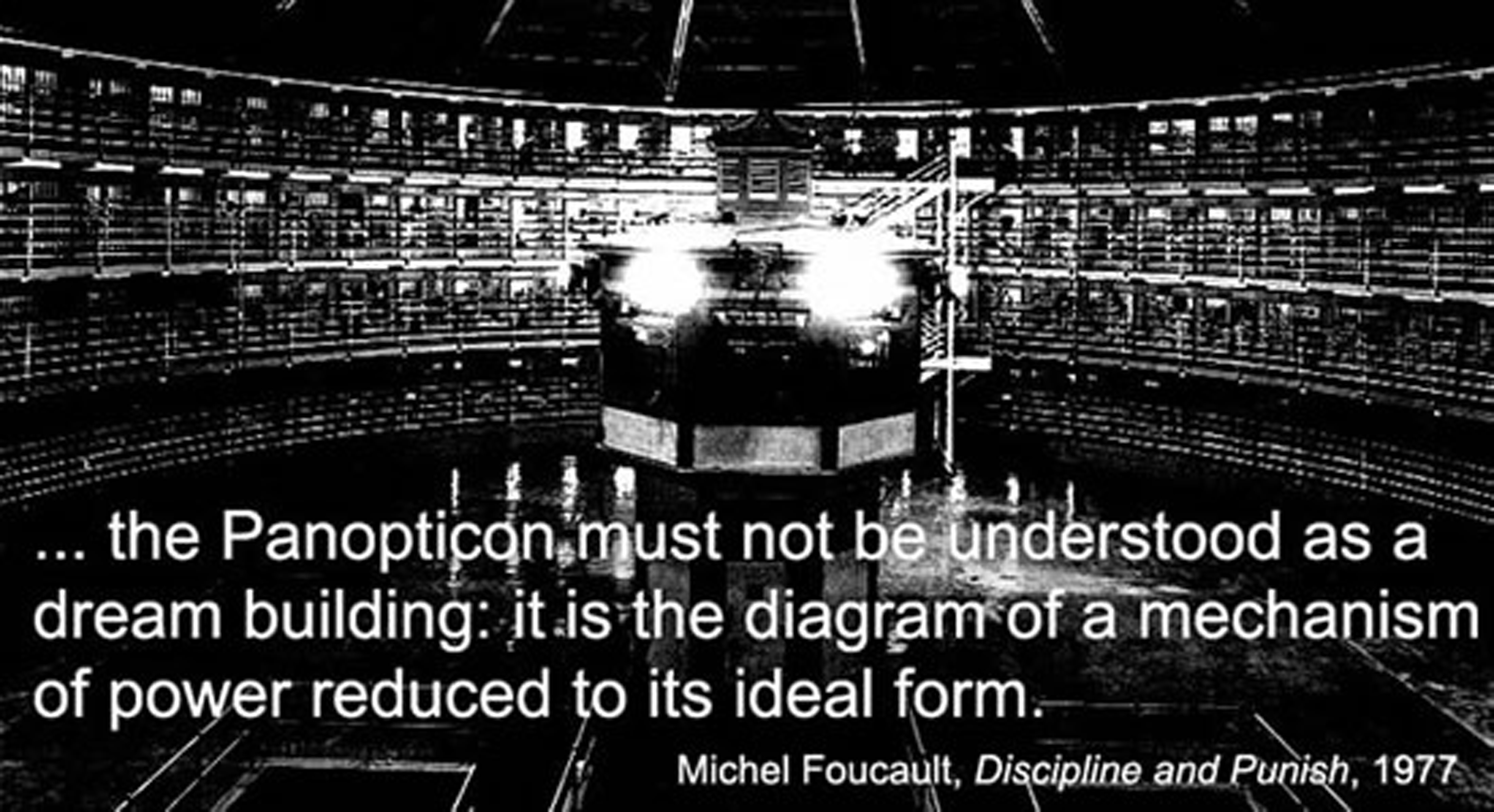 third post on architecture technology and liberty libertecture jeremy bentham s panopticon according to michel foucault